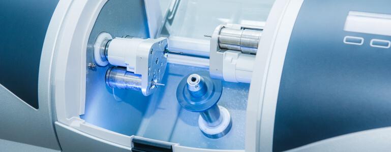 CEREC milling machine for same day dental crowns